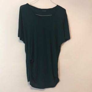 Forest green DKNY tunic